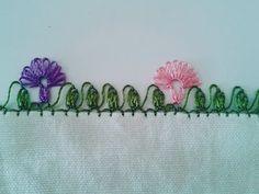 iğne oyası çiçek modelleri (DIY) - YouTube