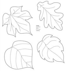 Nice templates for leaves! Mollie makes, Felt Leaf Template--cut out of craft foam to make stamp or embossing plate. Wool Applique, Applique Patterns, Craft Patterns, Felt Patterns Free, Pattern Ideas, Felt Flowers, Paper Flowers, Craft Flowers, Paper Butterflies