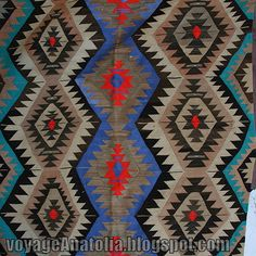 Traditional Turkish Rug Kilim