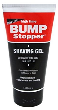 High Time Bump Stopper Shave Gel W/Aloe& Tea Tree Oil 5.3oz (3 Pack) Review