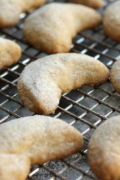 NYT Cooking: Cardamom-Walnut Crescents