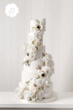 Beautiful cascading Sugarflowers