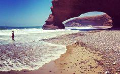 Legzira Beach in Marokko ist ein ganz besonderer Ort © Katharina Suchodolska