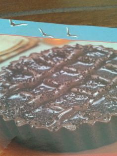 Artes da Neli: Crostata de Chocolate