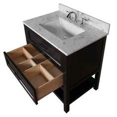 avanity brooks white 24inch vanity only 24 inch vanity bathroom furniture and vanities