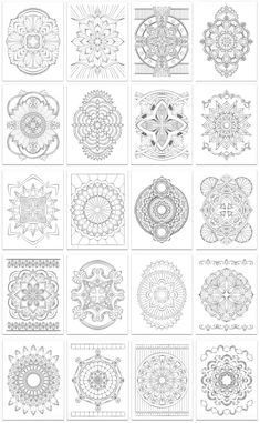 Mandala coloring page designs printed on artist quality paper. Coloring Tips, Colouring, Coloring Books, Mandala Coloring Pages, Adult Coloring Pages, Paper Stand, Light Texture, Ceiling Decor, Mandalas