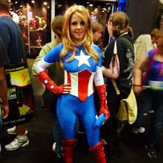 My kind of Captain America! #cosplay #comiccon #sdcc