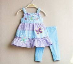 New 18 Months Rare Editions 2 piece leggings with chiffon sleeveless top