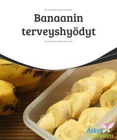 Banaanin terveyshyödyt   Banaani on jokaiselle tuttu #trooppinen hedelmä, josta saa paljon #energiaa, #vitamiineja ja mineraaleja. Banaani on terveellinen lisä jokaisen ruokavalioon.  #Terveellisetelämäntavat