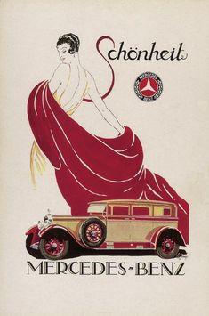 1920's Mercedes-Benz Advertisement