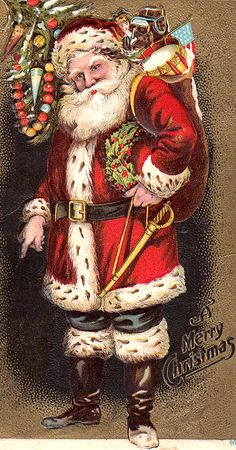 This is what Santa is supposed to look like!!