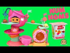 Num Noms Go Go Cafe Playset Track and Donut Wheel Unboxing with Special Editions + Blind Bag - YouTube