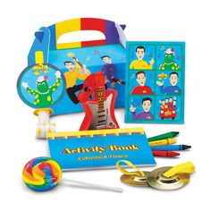 The Wiggles Birthday Party Favor Box