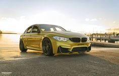 #BMW #F80 #M3 #Sedan #Austin #Yellow