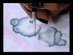 Mulher.com 16/08/2011 - Pintura em fralda