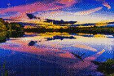 Cross Stitch Pictures, Cross Stitching, Painting, Mascara, Stitches, Puzzle, Digital, Crochet, Cross Stitch