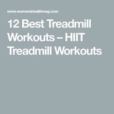 These fast and effective treadmill workouts will rev up your heart rate and help you get in shape. Try these HIIT treadmill workouts to build strength and endurance. Best Treadmill Workout, Hill Workout, Workouts Hiit, Easy Workouts, Cardio, Pyramid Workout, Work Out Routines Gym, Workout Routines