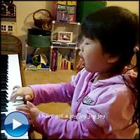 4 Year-Old Sings Her Heart Out for the Lord - Awww - Music Video
