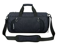 Gym Sports Small Duffel Bag for Men and Women with Shoes Compartment -  Mouteenoo (X 63c60c3b86
