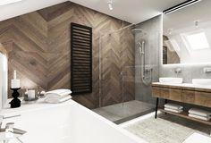 Minimal Bathroom, Modern Bathroom Design, Bathroom Interior Design, Wood Bathroom, Bathroom Renos, Small Bathroom, Wooden Door Design, Toilet Design, Bathroom Goals