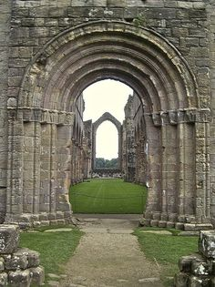 Fountains Abbey - United Kingdom. Part of the Secret Garden was filmed here!