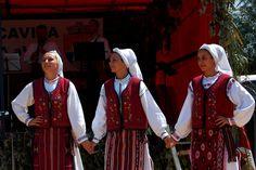 Romania/Dobrogea, near the Black Sea Folk Costume, Costumes, City People, Moldova, Black Sea, Bulgaria, Traditional Dresses, Romania, Sari