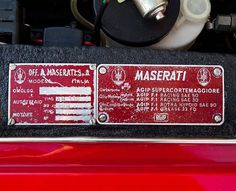 Maserati #forsale #luxurycar #pictureoftheday #potd #maserati #maseraticlassic #classicmaserati #classiccar #classiccars #classiccaroftheday #classiccarsdaily #classictrader #drivenbydesire #details #rossocorsa #racing #racingcars
