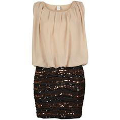 Vila Went Dress / Ms ($76) ❤ liked on Polyvore