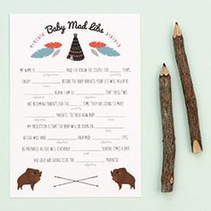 Free printable templates - party games, invites, recipes, etc.