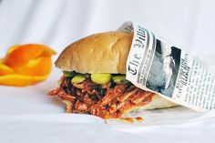 Orange Barbecue Pulled-Pork Sandwiches by Family Spice