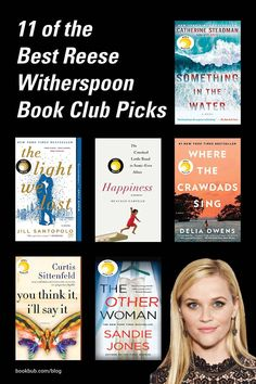 If you're looking for excellent book recommendations, a reliable source we turn to time and time again is Reese Witherspoon's book club picks for her group Hello Sunshine!   #books #bookclub #reesewitherspoon