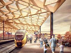 Uiterlijk nieuw station Ede-Wageningen over 5 jaar