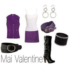 Mai Valentine- Yu-Gi-Oh! I've always wanted to be like her :)