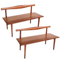 Pair Of Bed Benches By Kipp Stewart And Stewart MacDougall