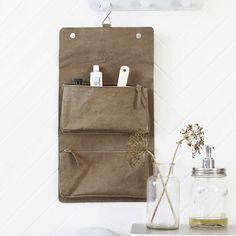 house doctor nomadic toalettveske m/oppheng oliven