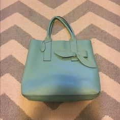 MSC Main Street collection shoulder bag Mint green shoulder bag. In great condition only carried for about a week. Slight discoloration on the lining (pictured). Bags Shoulder Bags
