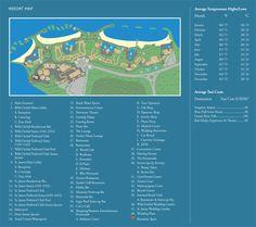 Secrets St. James / Secrets Wild Orchid Resort Map ~ Unlimited Vacation Club