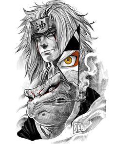 Japanese Drawings, Japanese Tattoo Art, Cool Drawings, Naruto Sketch, Naruto Drawings, Manga Tattoo, Anime Tattoos, Naruto Uzumaki Art, Anime Naruto