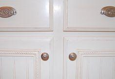 Remodelaholic | Builder Grade Cabinet Upgrade