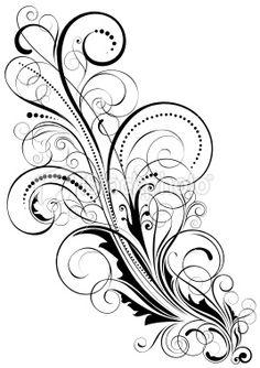 78 best scrolls swirls images on pinterest quilling stencils