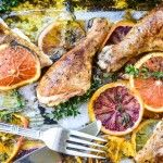 Roasted Chicken with Allspice and Citrus...beautiful AND delish!