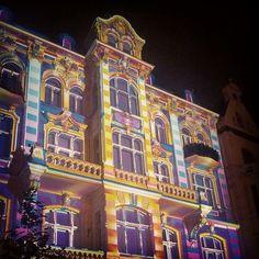 Łódź, Poland. Light Move Festival insta: libellule250