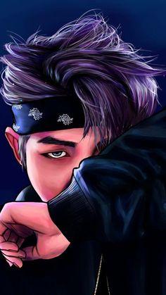 Read Rap Monster from the story FANART BTS by x_hobi_x with 604 reads. jungkook, j-hope, fanart. Bts Rap Monster, Cartoon Wallpaper, Bts Wallpaper, Bts Not Today Wallpaper, Army Wallpaper, Namjoon, Rapmon, Photo Manga, Bts Meme
