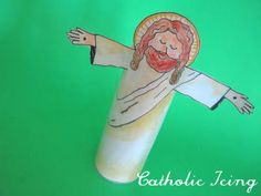 Still continuing our series of Bible ABC crafts, and here's what we did for the letter Ss… S is for Savior! Supplies Needed: This download (This is a part of my printable resurrection …