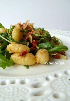 Gnocchi - Rucola - Salat