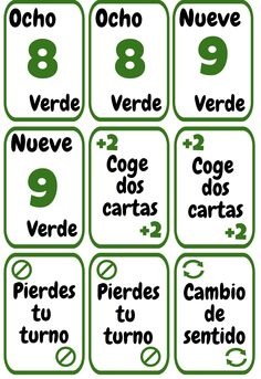 Cartas UNO imprimibles para la clase de español. ELE colores y números. Spanish Games, Spanish Activities, Spanish Lessons, Spanish Teacher, Spanish Classroom, Teaching Spanish, Number Flashcards, Spanish Numbers, Spanish Immersion