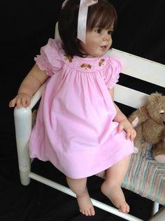 LilyBug Reborn Nursery Reborn Toddler, Toddler Dolls, Child Doll, Reborn Baby Dolls, Teddy Bear Toys, Teddy Bears, Reborn Nursery, Childhood Friends, Collector Dolls