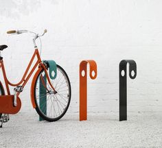 Styled Bicycle Stand