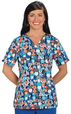 Four Legged Friends Two Pocket Top Veterinary Scrubs, Veterinary Technician, Veterinary Medicine, Vet Tech Scrubs, Vet Assistant, Scrub Tops, Clothing Company, Cute Outfits, My Style