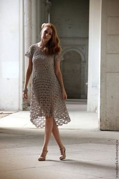 Free and Stylish Crochet Dress Patterns for This Year 2020 Part 44 ; crochet dress for women; Crochet Lace Dress, Crochet Blouse, Knit Dress, Knit Crochet, Mob Dresses, Short Sleeve Dresses, Boho Summer Dresses, Dress Summer, Boho Dress
